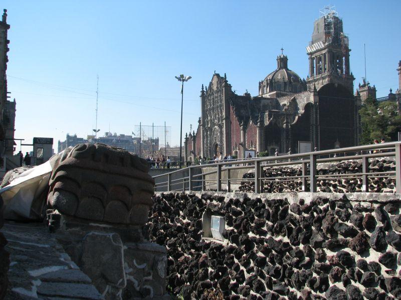 liste azteken ruinen